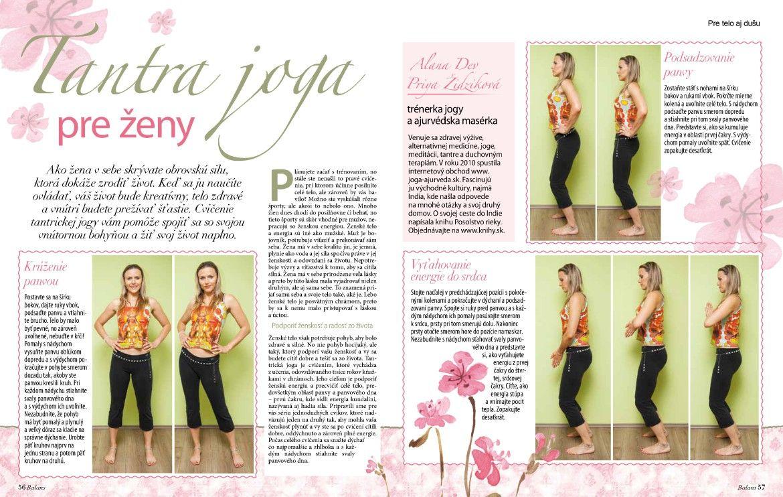 Tantra joga pre ženy