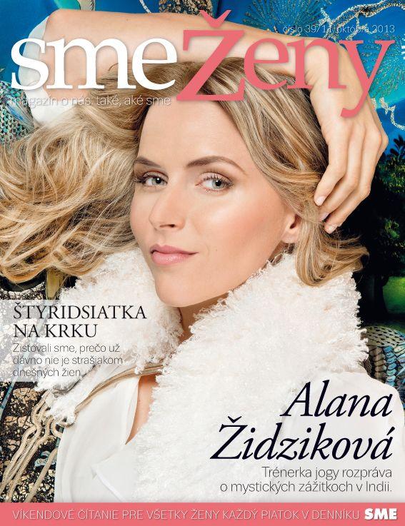 Interview a titulka pre časopis SME ŽENY – október 2013