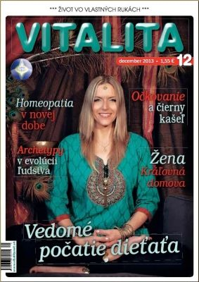Interview a titulka pre časopis Vitalita 12/2013