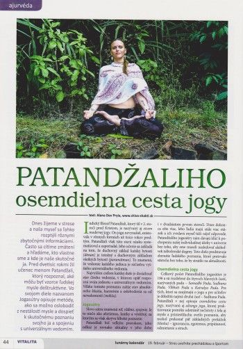 Patandžaliho osemdielna cesta jogy
