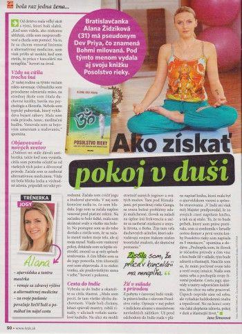 Interview pre NOVÝ ČAS PRE ŽENY – november 2013