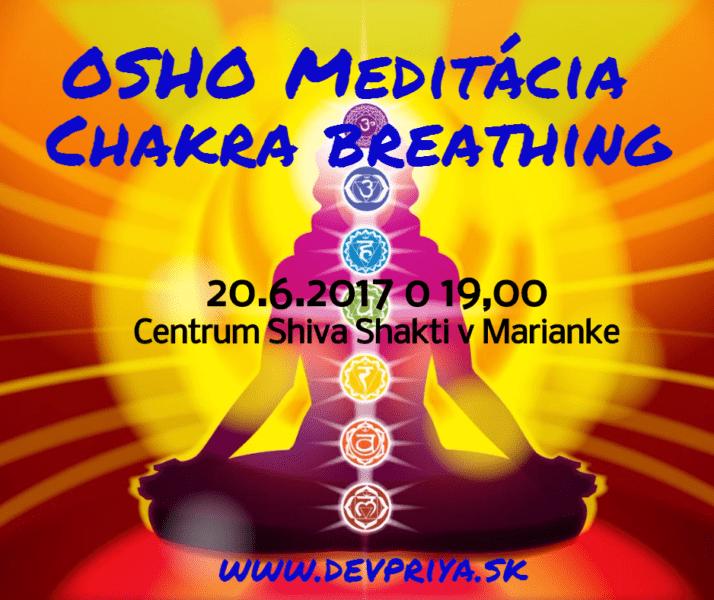 OSHO – Dýchanie do čakier (meditácia)