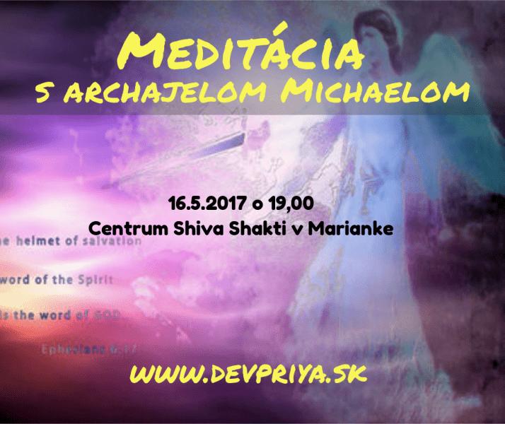 Meditácia s archanjelom Michaelom