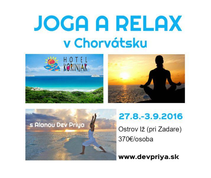 Joga a relax v Chorvátsku