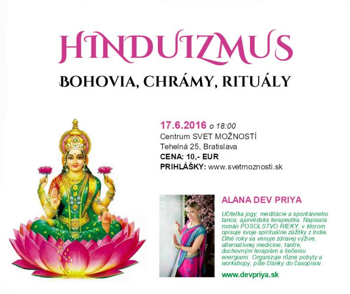 Hinduizmus – bohovia, chrámy, rituály (prednáška)