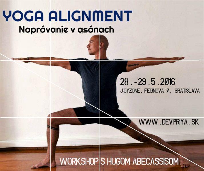 YOGA ALIGNMENT – Naprávanie v asánach – Workshop s Hugom Abecassisom