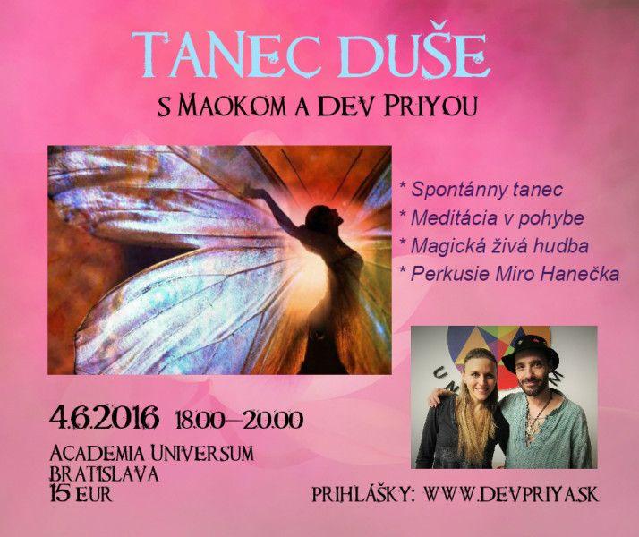 TANEC DUŠE s Maokom a Dev Priyou