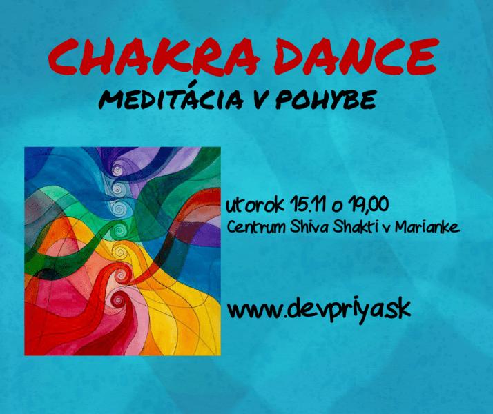 CHAKRA DANCE meditácia