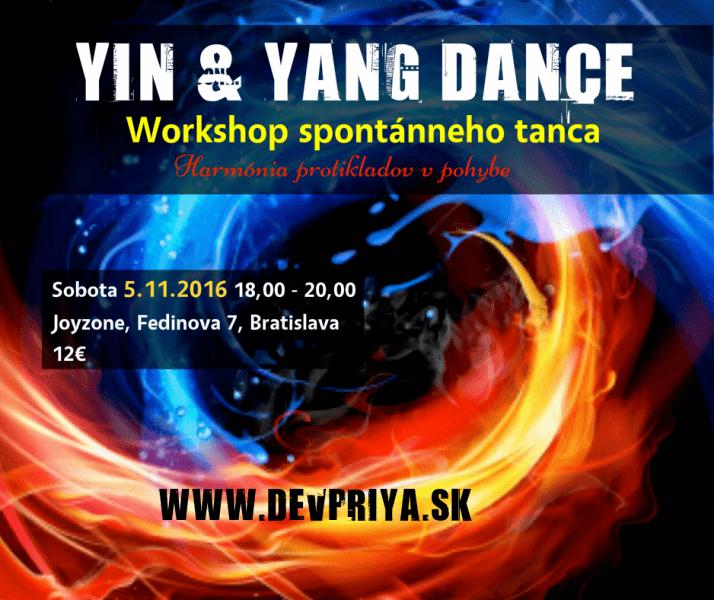 YIN & YANG DANCE workshop