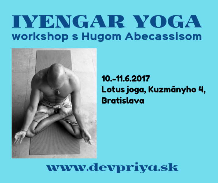 IYENGAR YOGA – Workshop s Hugom Abecassisom