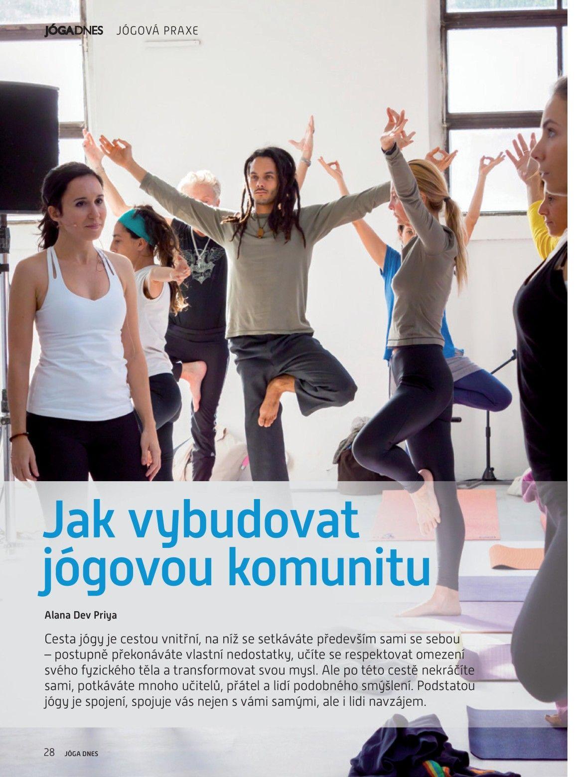 Jak vybudovat jógovou komunitu