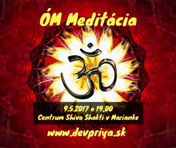 ÓM Meditácia