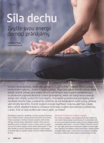 Síla dechu – Zvyšte svou energii pomocí pránájámy