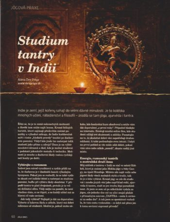 Studium tantry v Indii