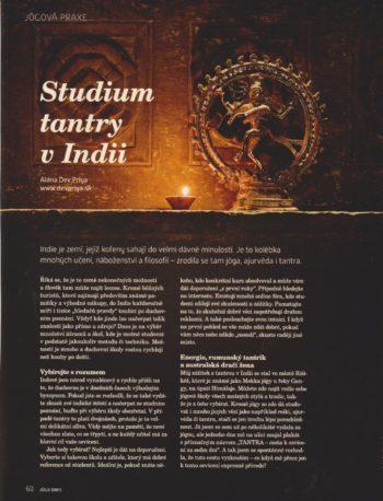Studium tantry v Indii
